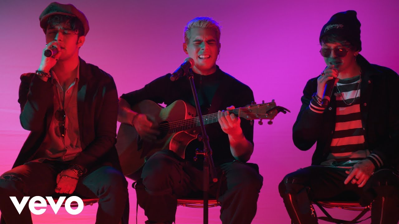 CNCO premieres acoustic performance videos of 'Pretend' and