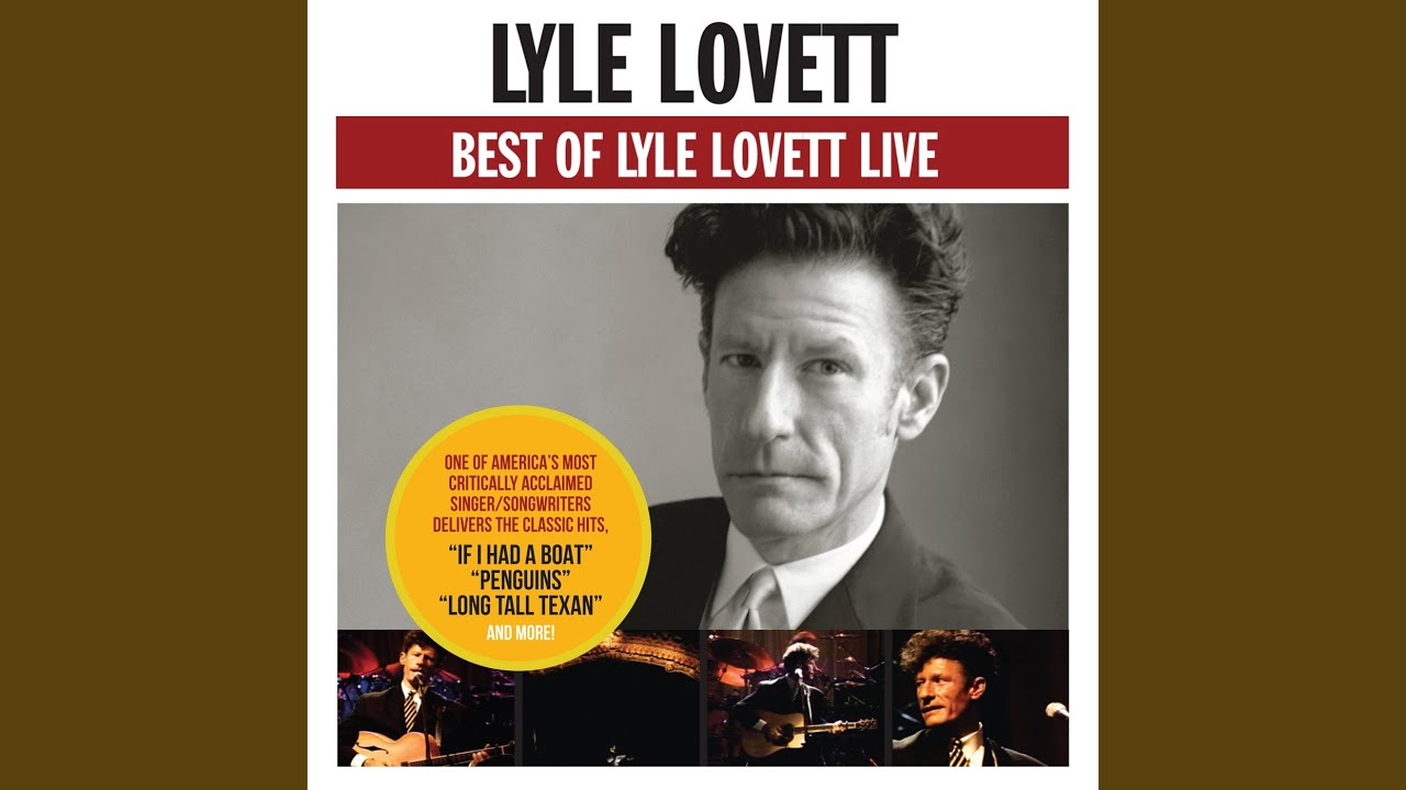 Lyle Lovett and His Large Band announce 2019 Red Rock show with guests