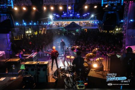 Joe Bonamassa performs onstage during Keeping the Blues Alive at Sea V. The floating festival, presented by Sixthman, sailed from Tampa, Flo