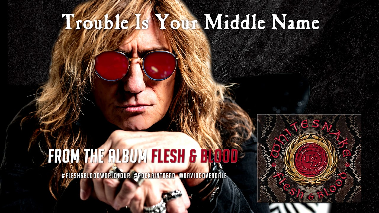 Listen: Whitesnake debuts new single 'Trouble Is Your Middle Name'
