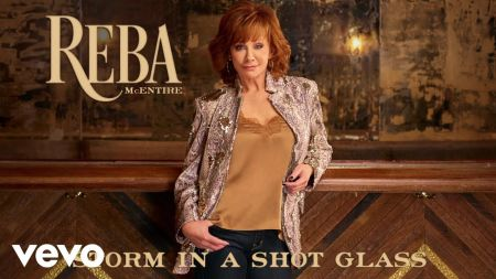 Listen: Reba McEntire releases new song 'Storm in a Shot Glass'