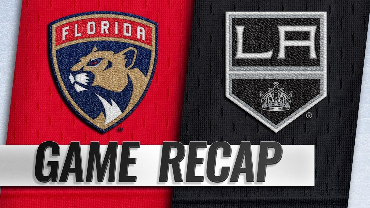 LA Kings best plays from March 16 game against Florida Panthers