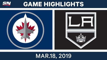 LA Kings best plays from March 18 game against Winnipeg Jets