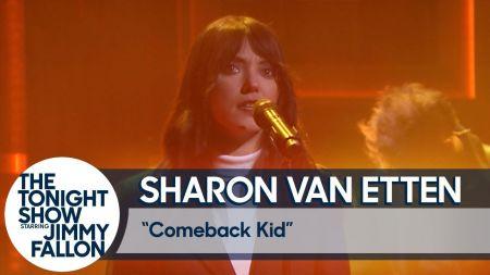 Watch: Sharon Van Etten rocks 'Come Back Kid' on 'The Tonight Show'