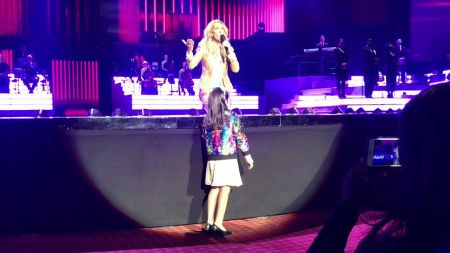 Watch: Celine Dion serenaded by young fan with dazzling performance of  'I Surrender'