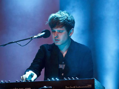 James Blake Live at Berlin Festival