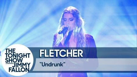 Watch: FLETCHER delivers TV debut performance of 'Undrunk' on 'Fallon'