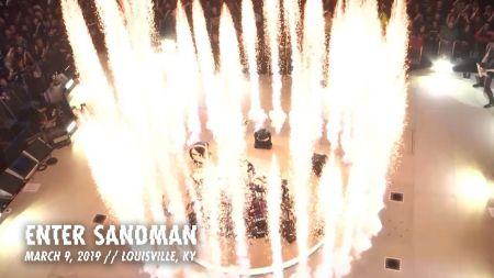 Watch: Metallica performs 'Enter Sandman' in Louisville, Kentucky
