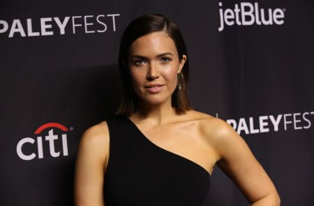 "HOLLYWOOD, CA – MARCH 24: Mandy Moore at PaleyFest LA 2019 honoring ""This Is Us"", at the DOLBY THEATRE on March 24, 2019 in Hollywood, Calif"