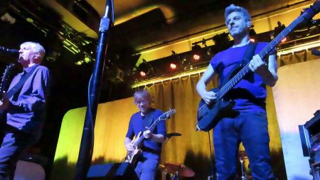 Watch: Trey Anastasio sits in with Phish bandmate Mike Gordon in Boston