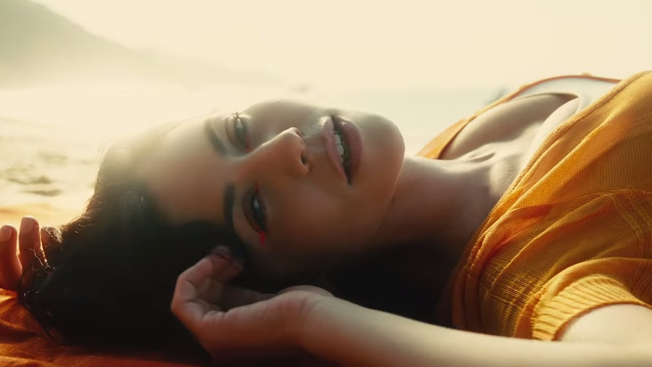 Marina serves summertime happiness in 'Orange Trees' music video