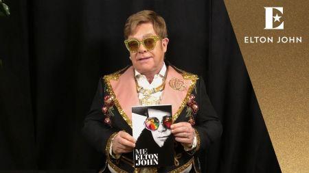 Watch: Elton John celebrates birthday by revealing details of upcoming memoir