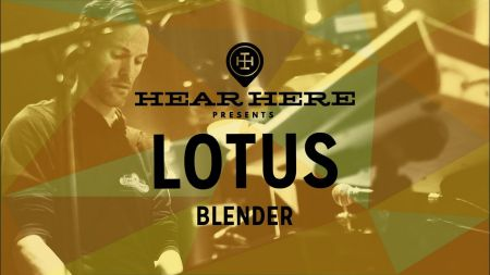 Watch: Lotus performs 'Blender' for Hear Here Presents' Soundcheck Series