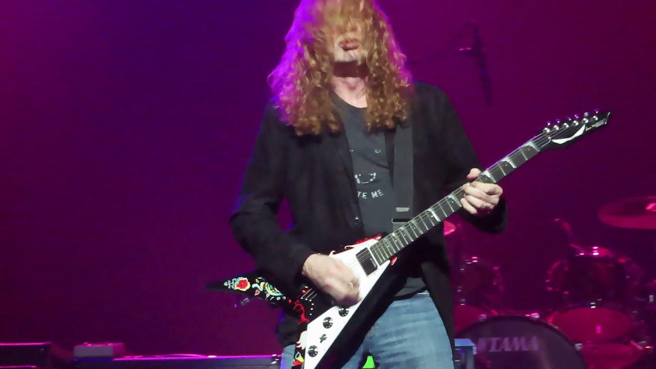 Watch: Megadeth's Dave Mustaine run through classic Jimi Hendrix hits