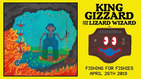 Listen: King Gizzard & The Lizard Wizard share new single from upcoming album 'Fishing for Fishies'