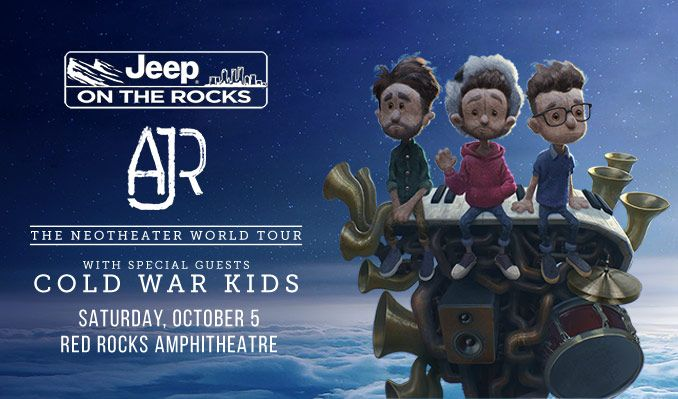 Jeep On The Rocks : AJR tickets in Morrison at Red Rocks