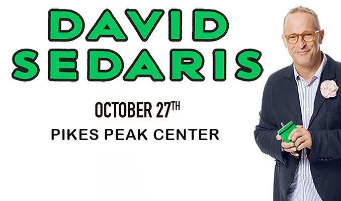 An Evening with David Sedaris tickets at Pikes Peak Center in Colorado Springs