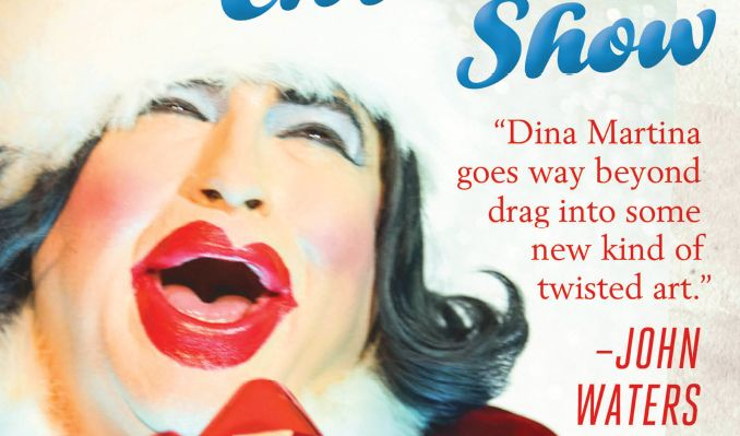 Dina Martina Christmas Show tickets at Great American Music Hall in San Francisco