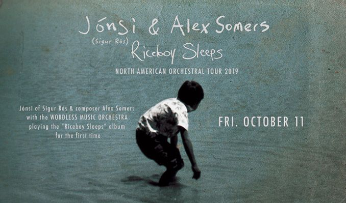 Jónsi & Alex Somers: Riceboy Sleeps with Wordless Music Orchestra conducted by Robert Ames / Orchestral Arrangements by David Handler tickets at Paramount Theatre in Seattle