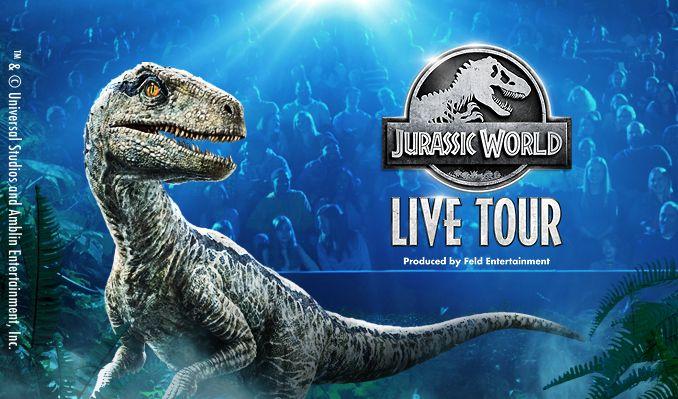 Jurassic World Live Tour tickets at Sprint Center in Kansas City