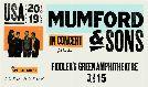 Mumford & Sons  tickets at Fiddler's Green Amphitheatre in Greenwood Village