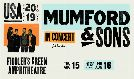 Mumford & Sons - SOLD OUT  tickets at Fiddler's Green Amphitheatre in Greenwood Village