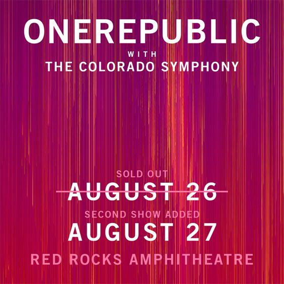 Thumbnail for OneRepublic with The Colorado Symphony