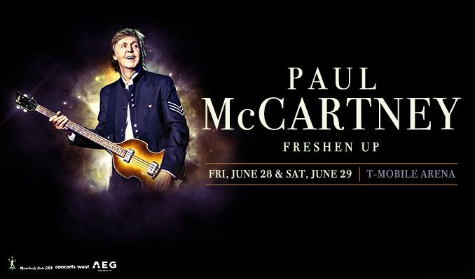 Paul McCartney tickets at T-Mobile Arena in Las Vegas