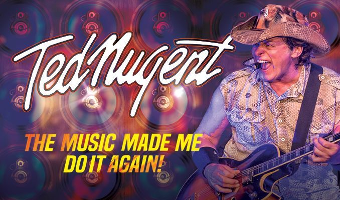 Ted Nugent tickets at Ruth Eckerd Hall, Clearwater