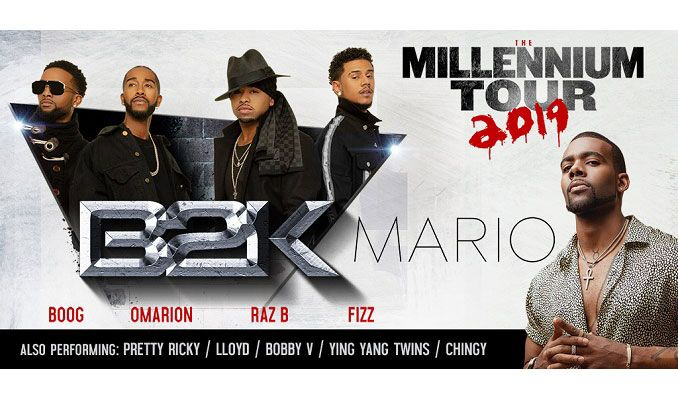 The Millennium Tour feat B2K tickets at MGM Grand Garden Arena in Las Vegas
