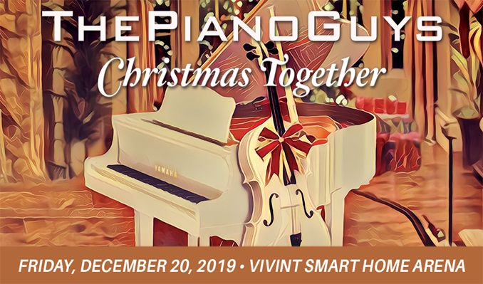 ThePianoGuys - Christmas Together  tickets at Vivint Smart Home Arena in Salt Lake City