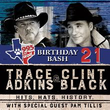 3fb5f6a2413 Trace Adkins   Clint Black - Hits. Hats. History. tickets in Grand Prairie  at The Theatre at Grand Prairie on Sun