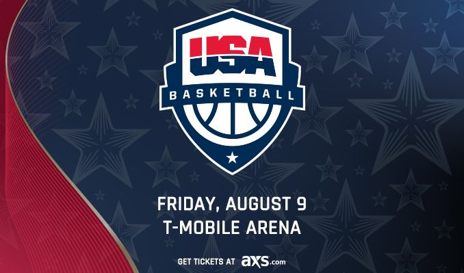 USA Basketball tickets in Las Vegas at T-Mobile Arena on Fri, Aug 9