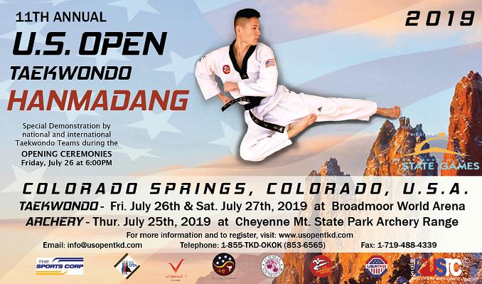 11th Annual U.S. Open Taekwondo Hanmadang tickets at Broadmoor World Arena in Colorado Springs