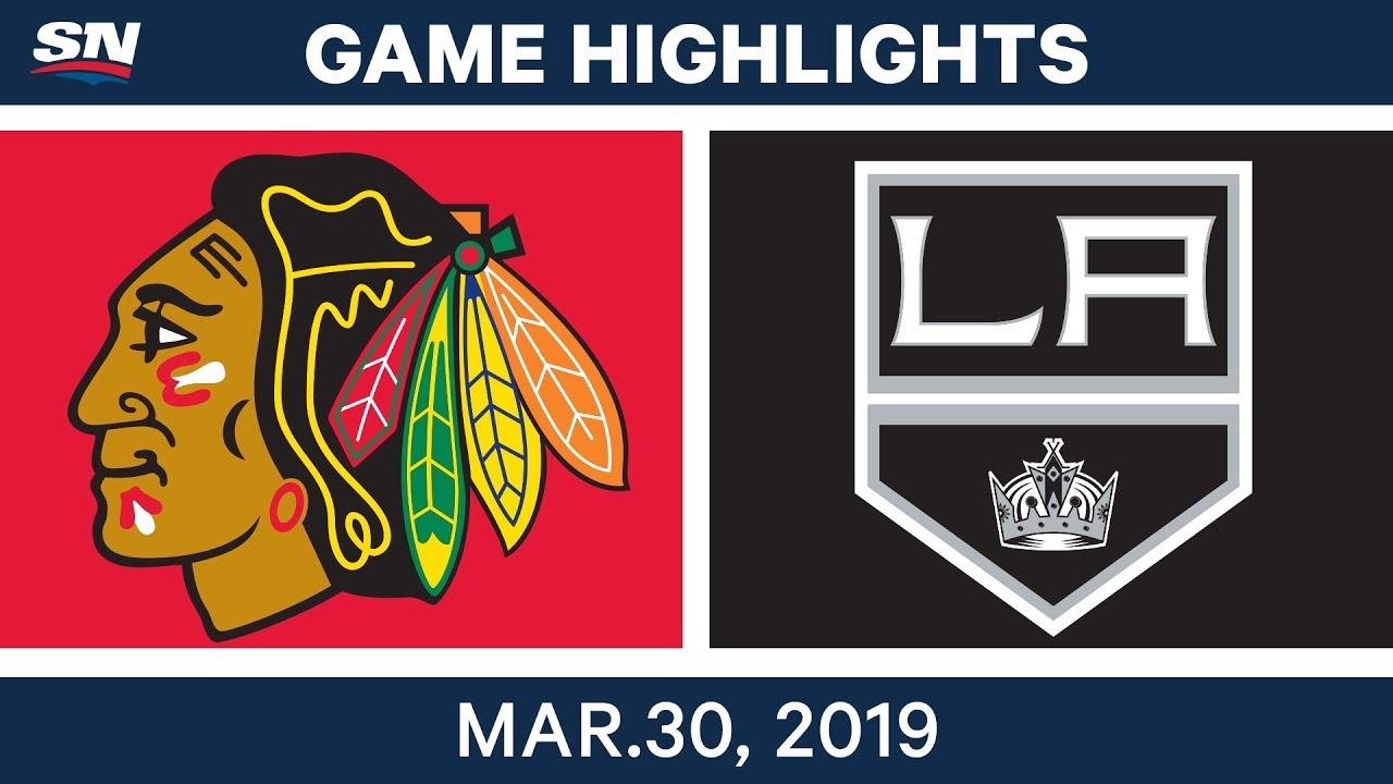 LA Kings best plays from March 30 game against Chicago Blackhawks