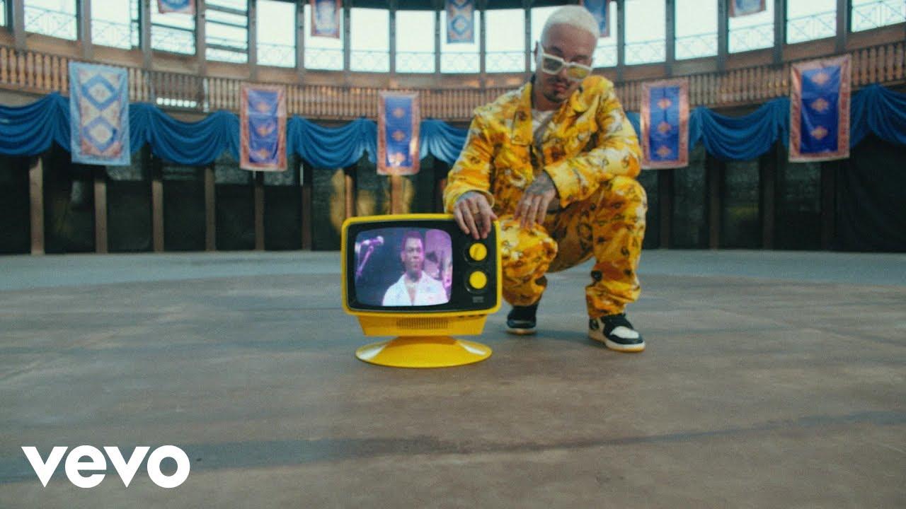 J Balvin pays tribute to Joe Arroyo in 'La Rebelión' music video