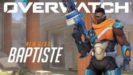 Overwatch's newest hero Baptiste is now live in competitive mode
