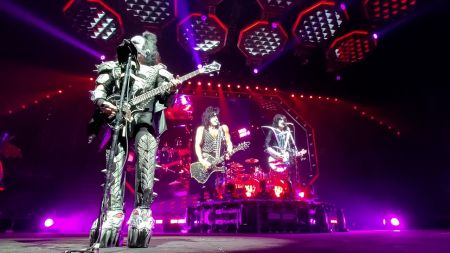 Watch: KISS performs 'Calling Dr. Love' at farewell tour stop in Quebec City