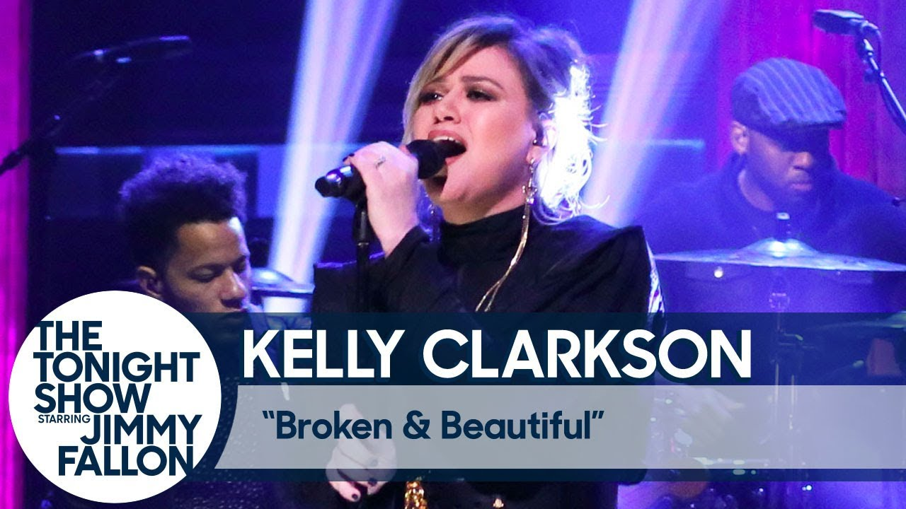 Watch: Kelly Clarkson performs 'Broken & Beautiful' on 'The Tonight Show'