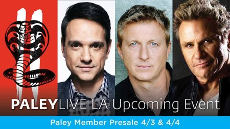 The Paley Center for Media in Beverly Hills adds 'Cobra Kai: Season Two Premiere Screening & Conversation,' 'Superstore: An Evening in Cloud
