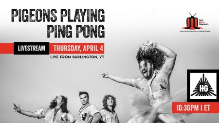 Watch: Twiddle's Mihali Savoulidis sits in with Pigeons Playing Ping Pong in Vermont