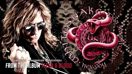Listen: Whitesnake premieres new song 'Hey You (You Make Me Rock)'