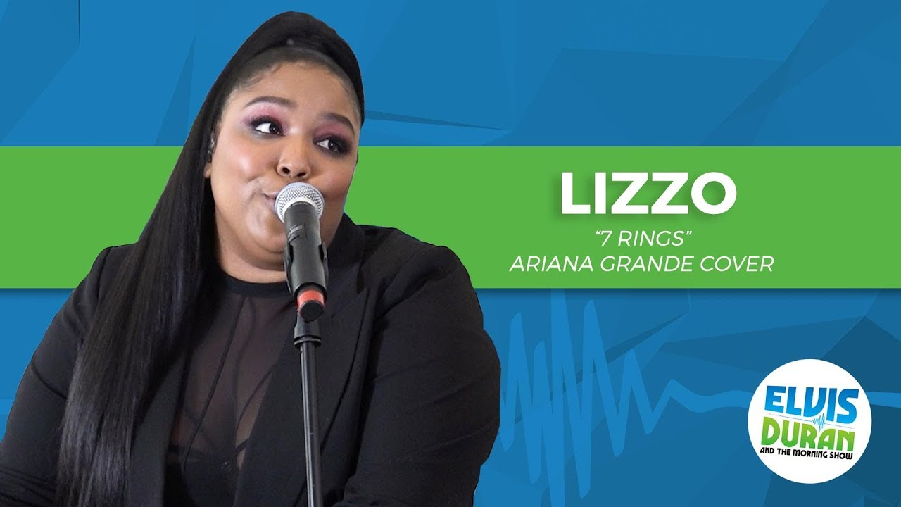 Watch: Lizzo covers Ariana Grande's '7 Rings' on the 'Elvis Duran Show'