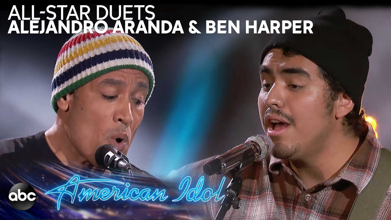 Watch: Ben Harper performs with 'American Idol' contestant Alejandro Aranda