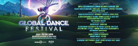Global Dance Festival 2019  Flyer