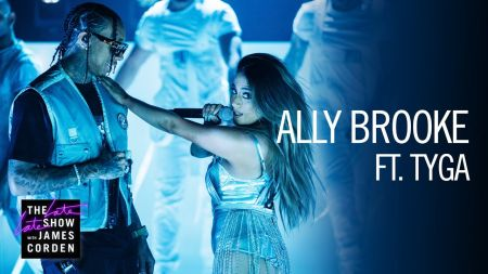 Watch: Ally Brooke brings out Tyga for 'Low Key' performance on 'Late Late Show'