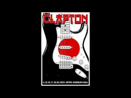 Listen: Eric Clapton plays rare 'Layla' at Tokyo concert