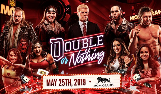 AEW Double or Nothing tickets at MGM Grand Garden Arena in Las Vegas
