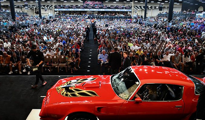 Barrett-Jackson: The World's Greatest Collector Car Auction tickets at Mandalay Bay South Convention Center in Las Vegas