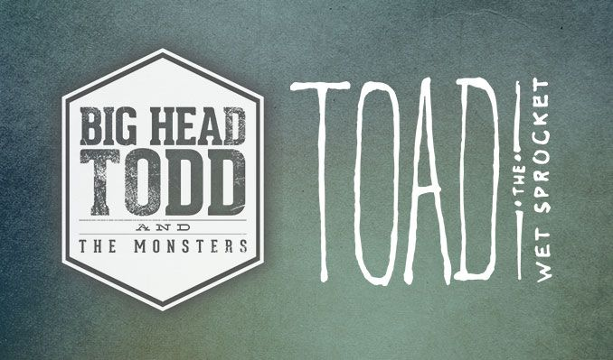 Big Head Todd and the Monsters / Toad the Wet Sprocket tickets at Xcite Center at Parx Casino in Bensalem